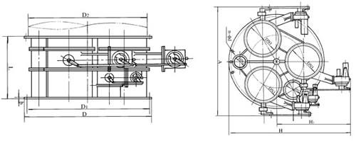 tyfz型调压阀组系列图片